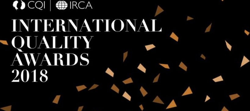 Chartered Quality Institute Awards Invite